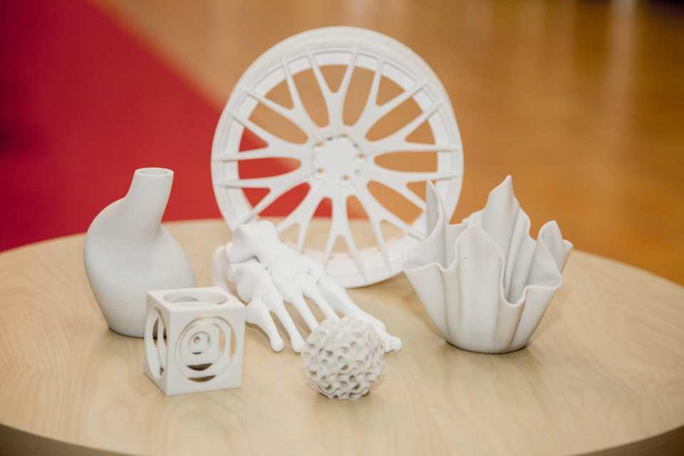 3D-utskrifter i plast och gips