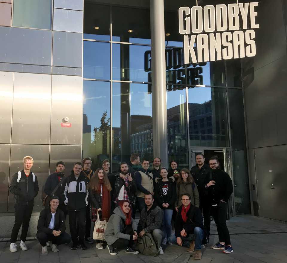 Studiebesök på Goodbye Kansas